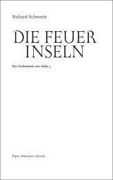 DIE FEUER INSELN - Piper-Fantasy.de