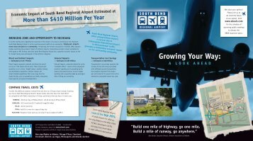 Growing Your Way  - South Bend Airport