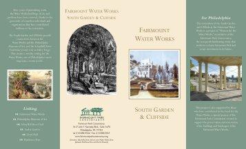 FPC donation brochure - Fairmount Park Conservancy