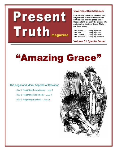 Amazing Grace!! (PDF only) - Present Truth Magazine