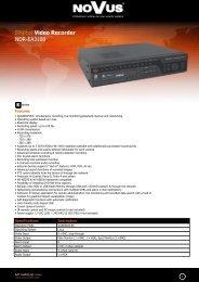 Digital Video Recorder NDR-EA3108