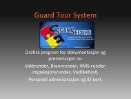 Presentasjon av GTS-systemer