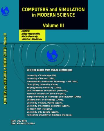 contents of this Book - Wseas.us