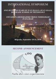 INTERNATIONAL SYMPOSIUM - 100 Years of Ivan Djaja