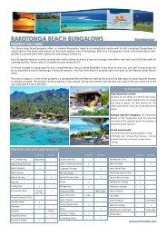 rarotonga beach bungalow - Island Hopper Vacations