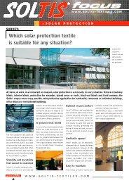 Soltis FOCUS – Solar Protection - Viva Sunscreens
