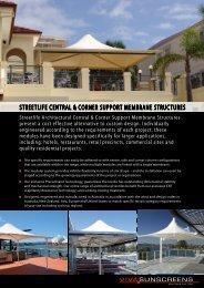 STREETLIFE cEnTRaL & coRnER SUPPoRT ... - Viva Sunscreens