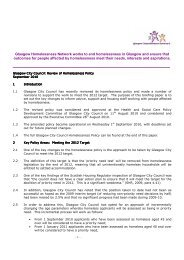 Homelessness Policy Briefing Paper Sept 2010 - Glasgow ...
