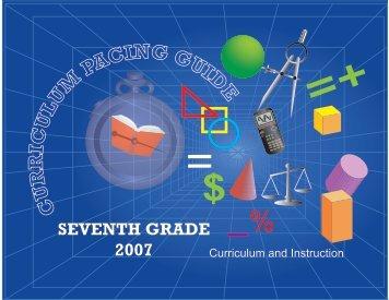 SEVENTH GRADE 2007 - Miami-Dade County Public Schools