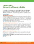 MCAA 2008/2009 Education Planning Guide - Mechanical ... - Page 4