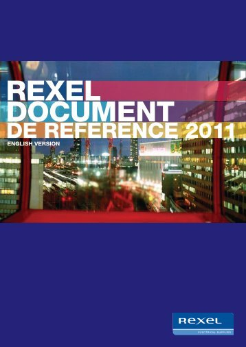 2011 Registration Document - Rexel