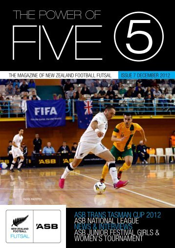 Download your free copy of Issue Six - NZ Football
