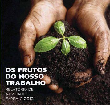 Relatório de Atividades do ano de 2012 - Fapemig