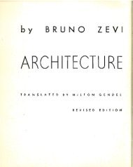 Zevi – Architecture As Space,1974 p45-72-email - Drawing ...
