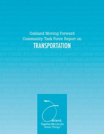 the Transportation Task Force report - City of Oakland