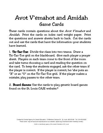Amidah Magazines