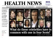 health news - NHS Greater Glasgow and Clyde