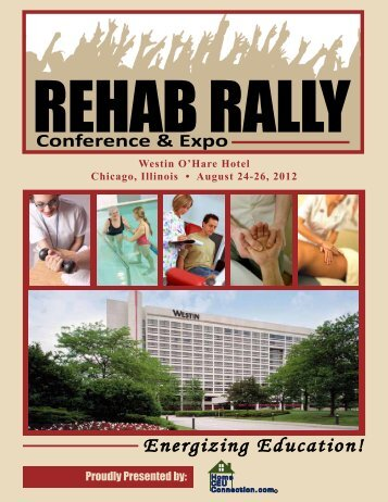 Attendee Brochure - Rehab Rally