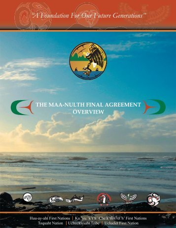 Download Booklet (PDF 2MB) - Maa-nulth First Nations