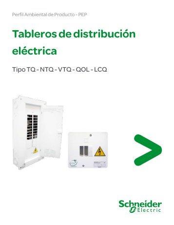 Perfil Ambiental Tableros Eléctricos - Centros ... - Schneider Electric