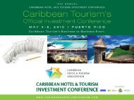 Financing Outlook For The Caribbean May 5, 2010