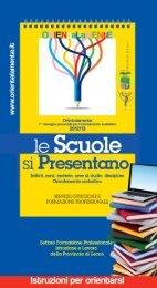 Istruzioni per orientarsi - Provincia di Lecco