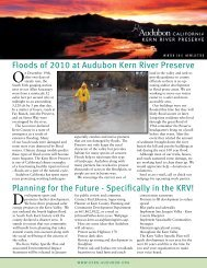 Planning for the Future - Specifically in the KRV! - Kern River ...