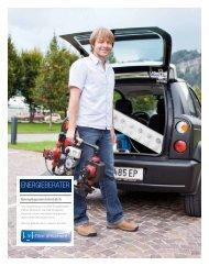 Energiesparen mit Köpfchen Qualifizierte Energieberater der VKW ...