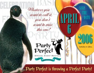 Party Perfect is throwing a Perfect Party! - Marathonmarketingva.com