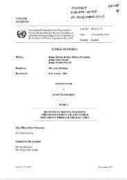 4 Nov 2010 - ICTY