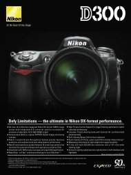 Defy Limitations – the ultimate in Nikon DX-format ... - Vistek