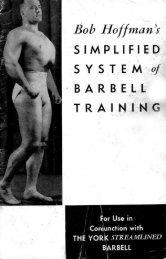 Hoffman - Barbell Tr.. - Eugen Sandow & The Golden Age of Iron Men