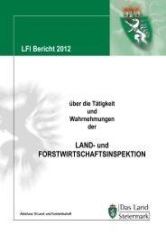 Bericht 2012 - Agrar-Server Land Steiermark