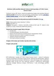 Visas kvietimo tekstas PDF dokumente - LVU