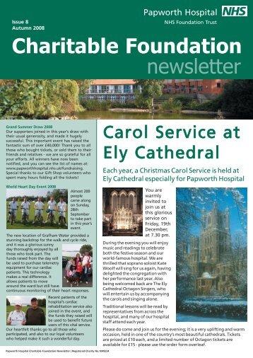 Charitable Foundation newsletter - Papworth Hospital