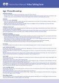 """Instrukcja """"Mówiąca zagroda"""" – zabawka interaktywna - Chicco - Page 6"""