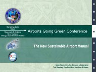 The New Sustainable Airport Manual - Airports Going Green