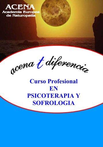 Curso Profesional EN PSICOTERAPIA Y SOFROLOGIA