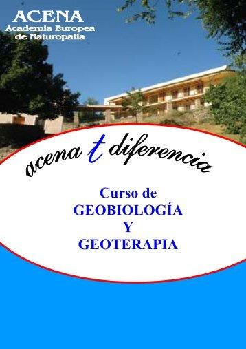 Curso de GEOBIOLOGÍA Y GEOTERAPIA