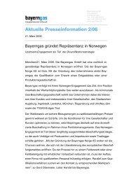Ganzen Artikel als PDF herunterladen - Bayerngas GmbH