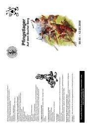 Pfingstlager Ausschreibung - Wilde Gesellen in Coburg