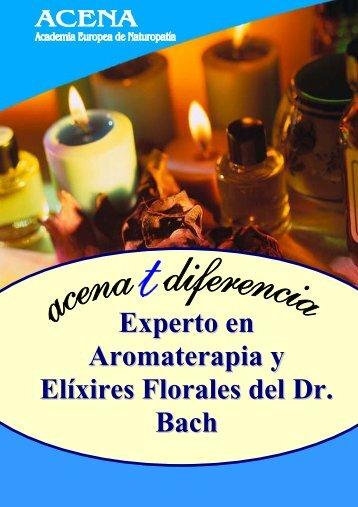 Experto en Aromaterapia y Elíxires Florales del Dr. Bach