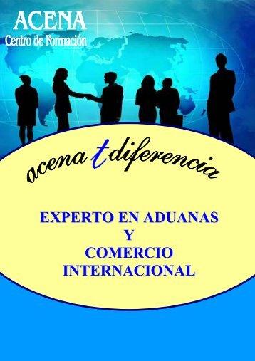 EXPERTO EN ADUANAS Y COMERCIO INTERNACIONAL