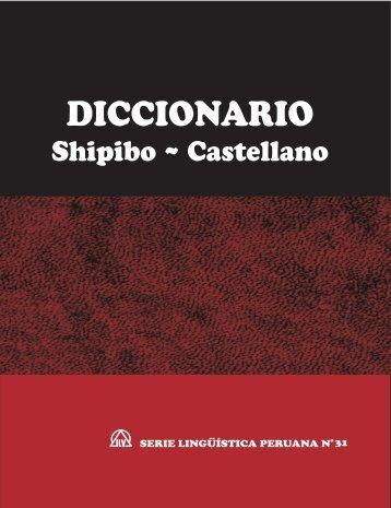 Diccionario Shipibo ~ Castellano - Sil.org