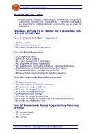 TÉCNICO EN PROMOCIÓN Y SEGURIDAD PARA LA SALUD OCUPACIONAL - Page 3