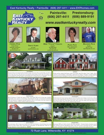 East Kentucky Realty - Youngspublishing.com