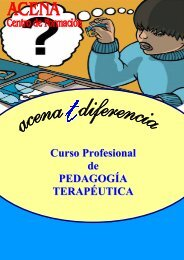 Curso Profesional de PEDAGOGÍA TERAPÉUTICA