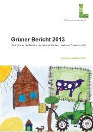 Lebensministerium: Grüner Bericht 2013 - Rettet die Blumenwiesen!