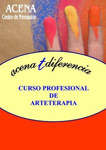 CURSO PROFESIONAL DE ARTETERAPIA