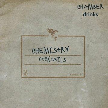 Open Chamber Drinks Menu - GuestlistSPOT.com